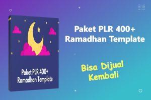 PLR 400+ Ramadhan Template